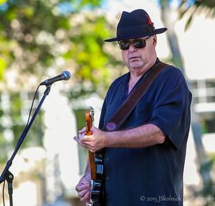 Frank Ward & Nuckelbusters with Ken Burkhart, Charles Gaspar at the Riverwalk Blues Fest