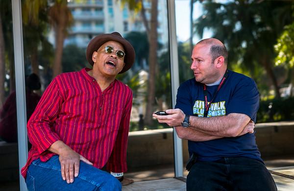 Guy Davis Interview Riverwalk Fest /SFL Music Mag Online - interview at Riverwalk Blues and Music Fest 2015