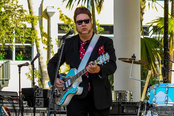 Josh Rowand and the Pitbull of Blues at the Riverwalk Blues Fest 2015