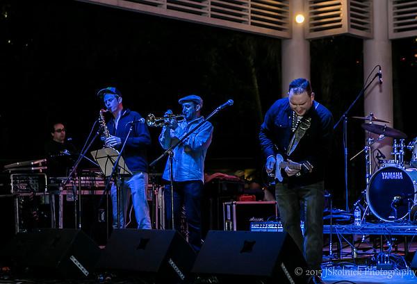 Josh Smith at the Riverwalk Blues Fest 2015