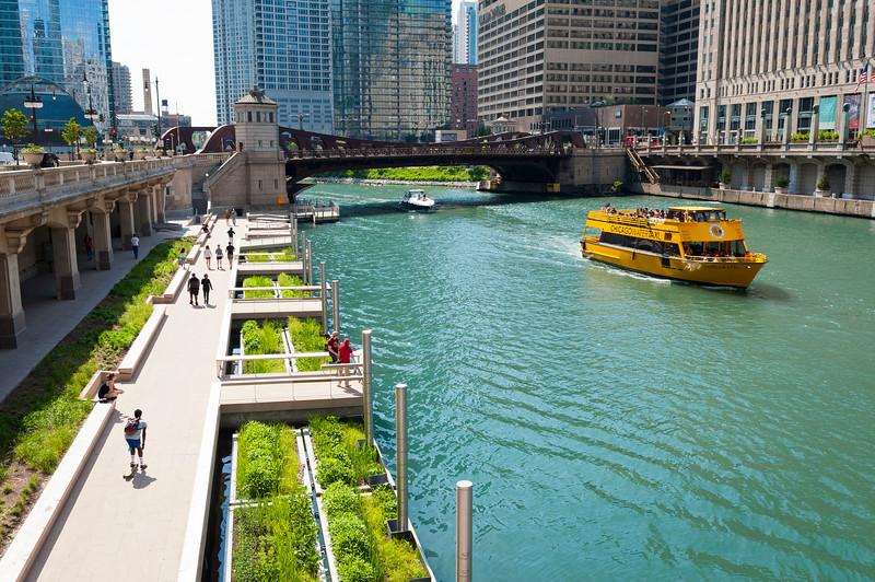 Chicago Riverwalk Jetty