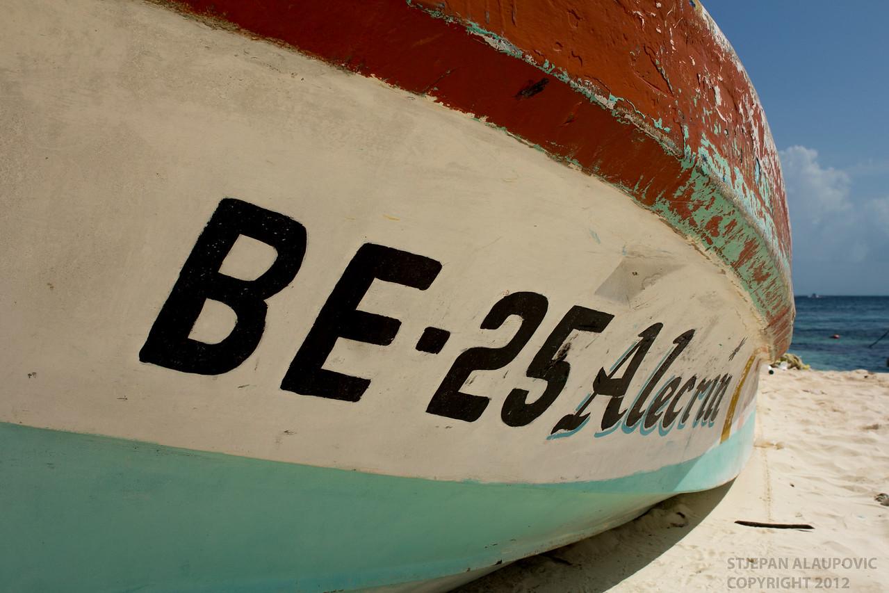 Boat on Sandy Beach