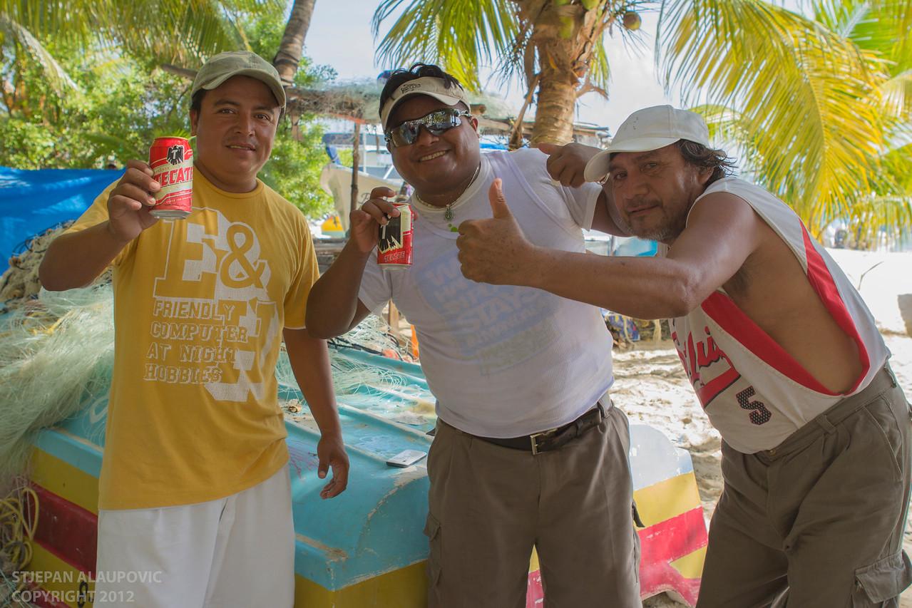 Locals on Isla Mujeres