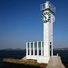 Farol-relógio na Praia das Gaivotas