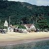 Vila do Abraão na Ilha Grande