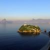 Ilha da Boa Viagem e a Baia de Guanabara