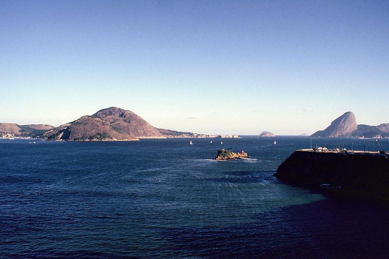 Baia de Guanabara 1987 (sem o MAC)