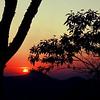 Por do Sol na Serra para Itaipava