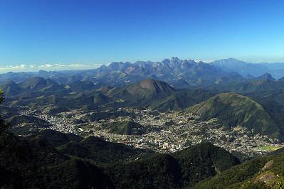 Teresópolis vista da Pedra do Sino