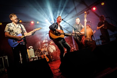 Skinny Lister @ Lindisfarne Festival