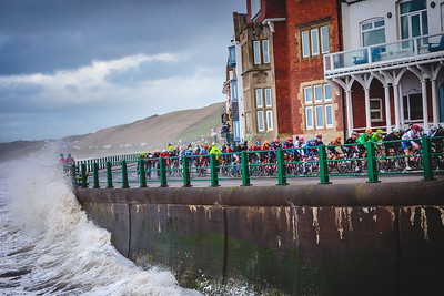 Stormy Seas in the Tour De Yorkshire 2019
