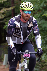 Thomas Almond rides at the Gran Fondo Hincapie Greenville in Saluda, N.C., on October 19, 2019