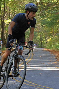 Joe Lanser (536) rides on Skyuka Mountain Rd. in the Gran Fondo Hincapie Greenville -- Saturday, October 24, 2020