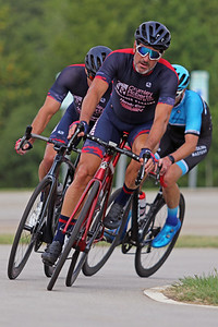 Jay Jenkins (128) competes in MAC Racing Series at Rock Hill, South Carolina, Saturday, August 8, 2020