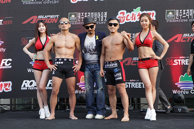 "Kil Young-Bok vs Umeda Kosuke ""Weigh-in"""