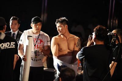 Kim Hoon vs Luis Ramos at Road FC 018 at the Grand Hilton Hotel in Seoul 8/30/2014