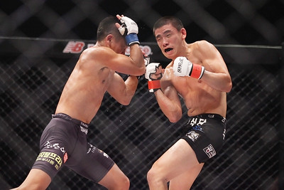 Kim Tae-Kyun vs Kwack Jong-Hyun at Young Guns 16 at Seoul Olympic Hall 8/17/2014