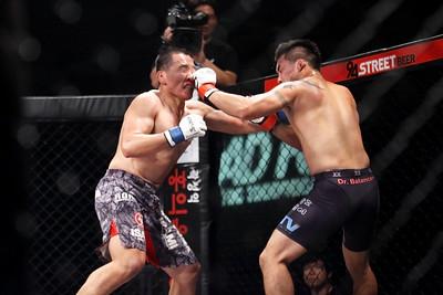 Kim Won-Gi vs Ahn Jun-Young at Road FC 018 Young Guns 17