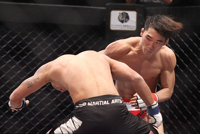 Lee Yun-Jun vs Thiago Silva at Road FC 017 in Seoul at Olympic Hall 8/17/2014