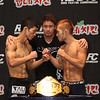 Song Min-Jong and Jo Nam-Jin at Road FC 016 Weigh-in