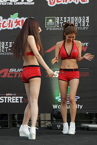 Suelgi Choi and Hana Yoo