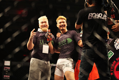 at Road FC Young Guns 17 in Seoul at the Grand Hilton Hotel 8/30/2014
