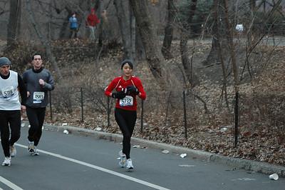Manhattan Half Marathon 1-27-08