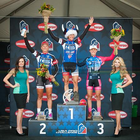 Stage 5 - Women's Podium