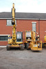 BIG, BIG Thank you to the fella at Quattro for letting us look around much appreciated mate <br /> <br /> The above shows: <br /> <br /> Left Komatsu PC138 euro # 911157-4 <br /> <br /> Right: AJZ9910 Mecalac 11CX with Basket attached euro # 942020-7