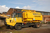 Rexquote Thwaites TD12 Truck with Rail Vac on back <br /> <br /> Euro # 949026-7 <br /> <br /> Road Reg X192 HNF