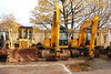 Left to Right <br /> <br /> Rexquote Caterpiller D4H Euro # 914012-8 <br /> <br /> with two JCB JS 130Lc XL Caterpillers on the end