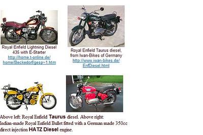Diesel Bikes