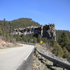 Battleship Rock on NM4.  Jemez Mountains, NM
