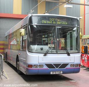 SF51 YAD Volvo B10BLE 2001 First Glasgow (SV633)