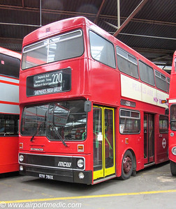 KYV 781X MCW Metrobus DR101/14 1982 London Transport (M781)