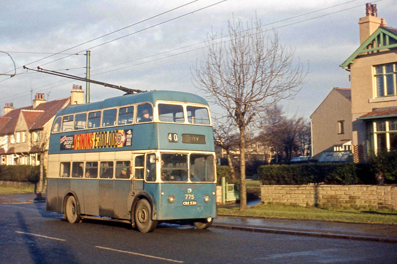 19690107.004.No775 CBX530 Rote 40 Thackley to City near Five Lane Ends