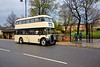 """Joseph Woods No 20 EVD 406 stands awaiting time at Ings Grove Park Mirfield while working the first of two fully loaded """"via Knowle"""" trips on Sunday 15th November 2015 as part of the Dewsbury Bus Museum Auntmn Gala."""
