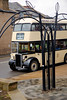 "Joseph Woods No 20 EVD 406 stands awaiting time at Ings Grove Park Mirfield while working the first of two fully loaded ""via Knowle"" trips on Sunday 15th November 2015 as part of the Dewsbury Bus Museum Auntmn Gala."
