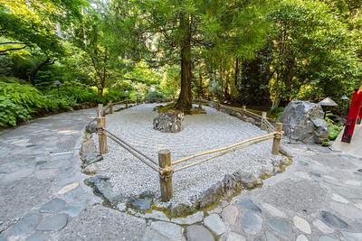 Japanese Garden. Butchart Gardens - Brentwood Bay, BC, Canada