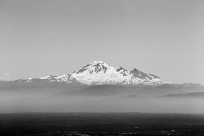 Mount Baker. Grouse Mountain - North Vancouver, BC, Canada