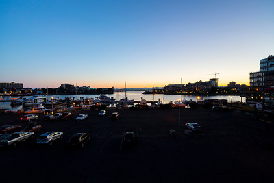 Sunset. Downtown Victoria, BC, Canada