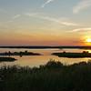 Forsythe marshes sunset