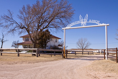 "The Arringon Ranch was featured in the movie ""Cast Away"".  County Road 5 in Texas."