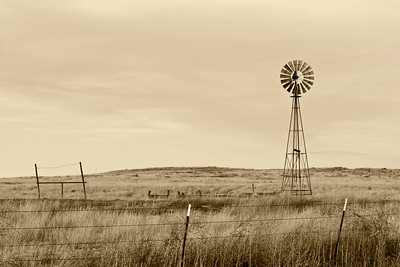 Along Highway 354 in West Texas