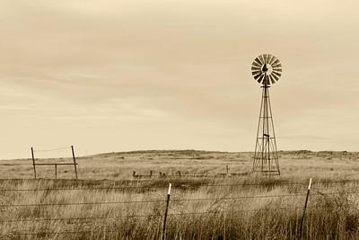 Along Highway 354 in West Texas