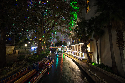 The Riverwalk in San Antonio