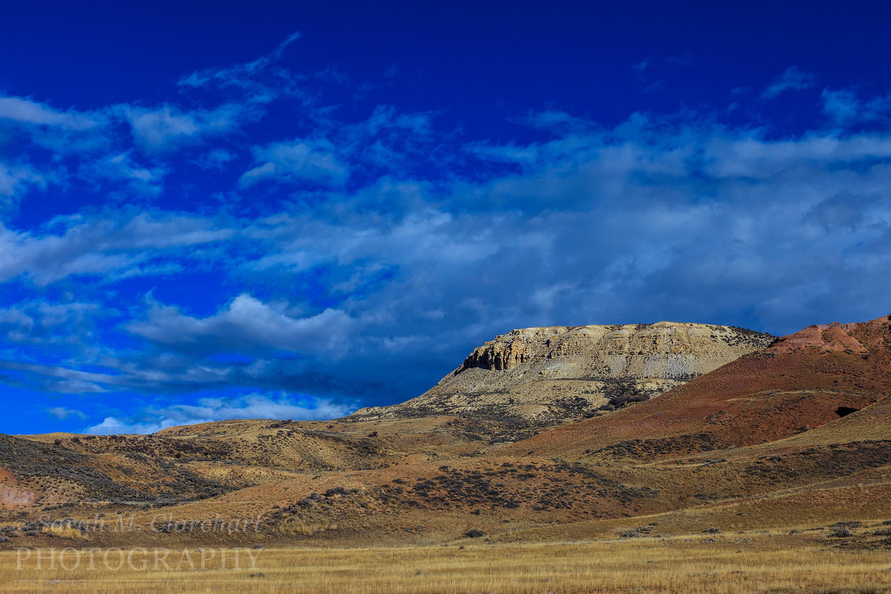 Fossil Butte National Monument, Wyoming.