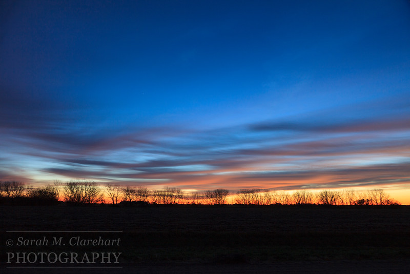 Nebraska sunrise.