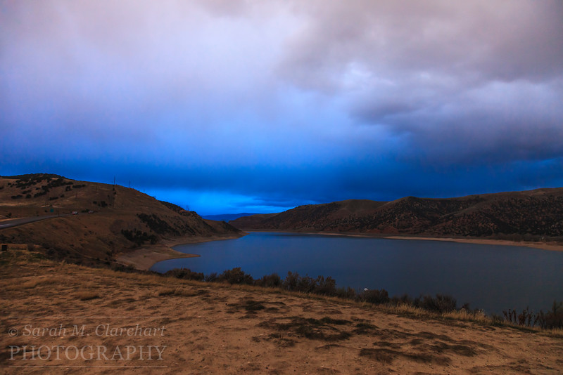 Early morning at Echo Reservoir, Utah.