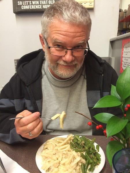 Chicken Noodles Over Mashers---omg